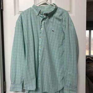 Vineyard Vines men's button down whale shirt